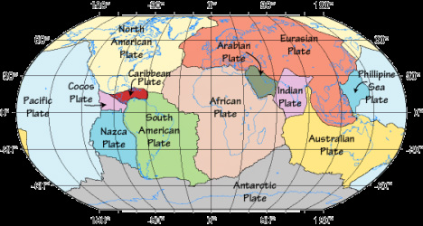 Plate tectonic theory the british geographer plate tectonics is the theory that explains the global distribution of geological phenomena principally it refers to the movement and interaction of the gumiabroncs Images